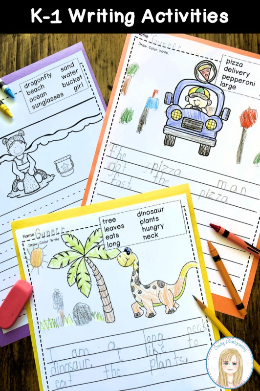 K-1 Writing Activities