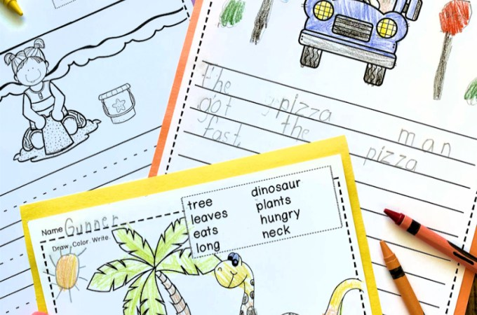 K-1 Writing Activities