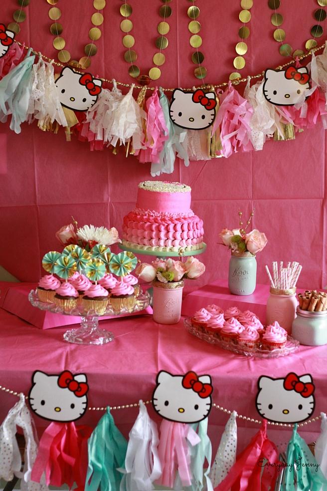 HELLO KITTY BIRTHDAY PARTY EVERYDAY JENNY