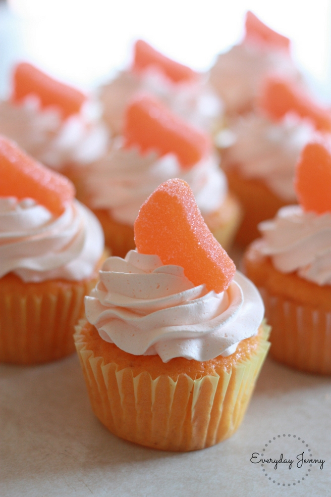 Orange Soda Creamsicle Cupcakes Everyday Jenny