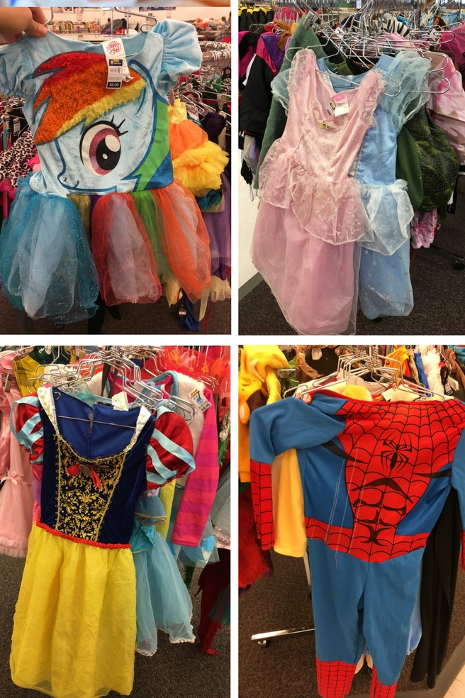Costumes from Deseret Industries.