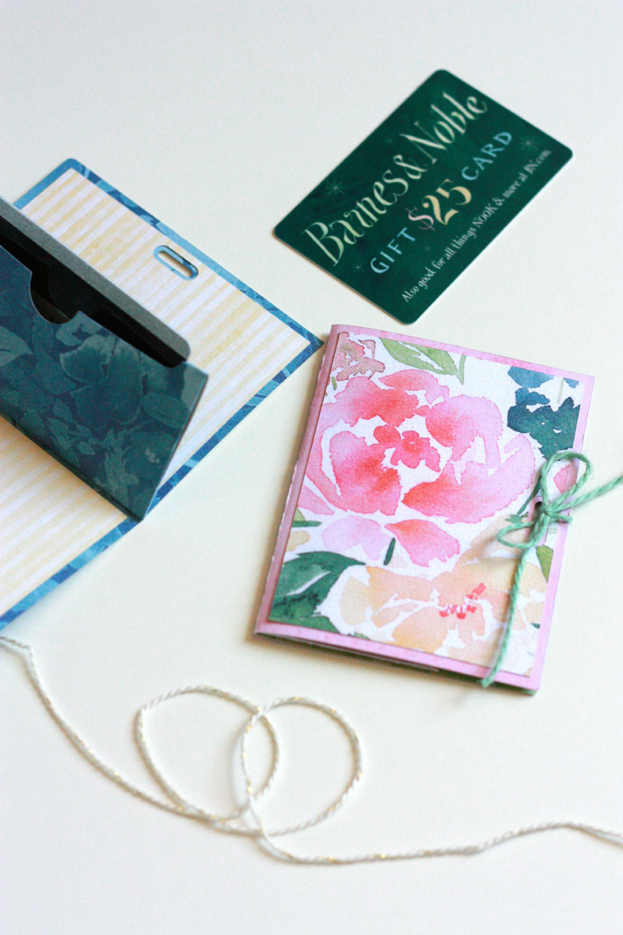 Diy Gift Card Holder With Cricut Explore Air 2 Everyday Jenny