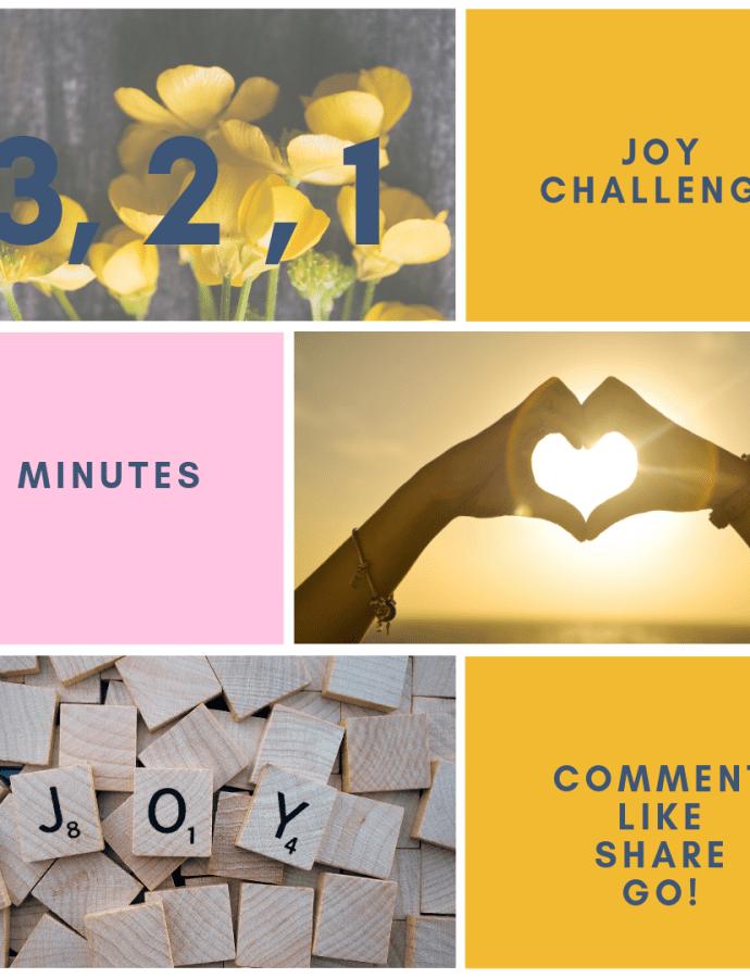 Mindfulness- Monday, Share the Joy