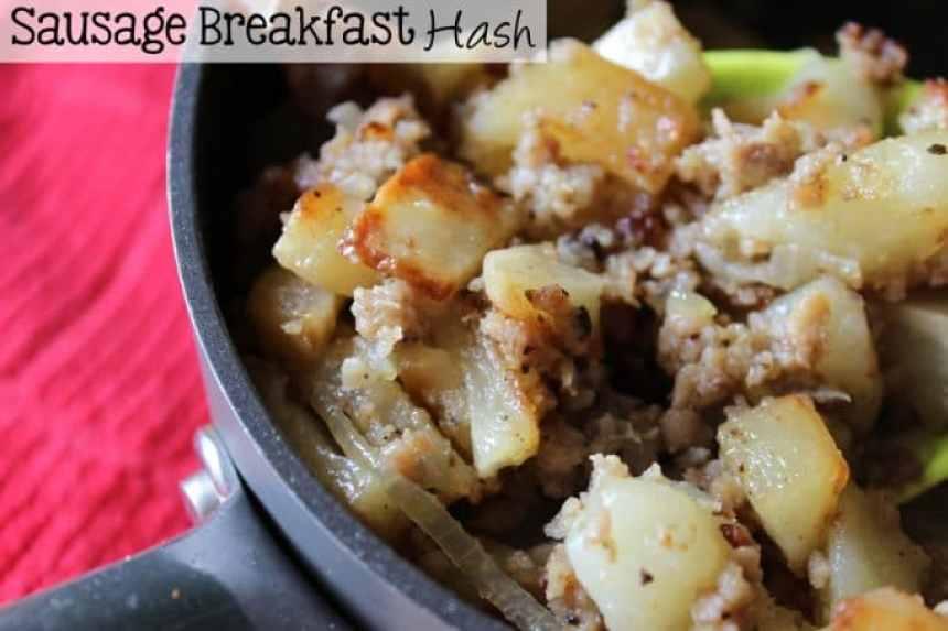 Sausage Breakfast Hash | EverydayMadeFresh.com