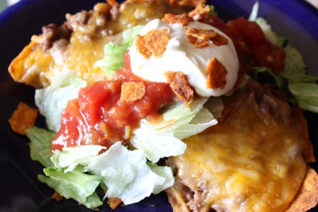 Baked Taco Salad is simple and delicious! Try this on your next taco night.