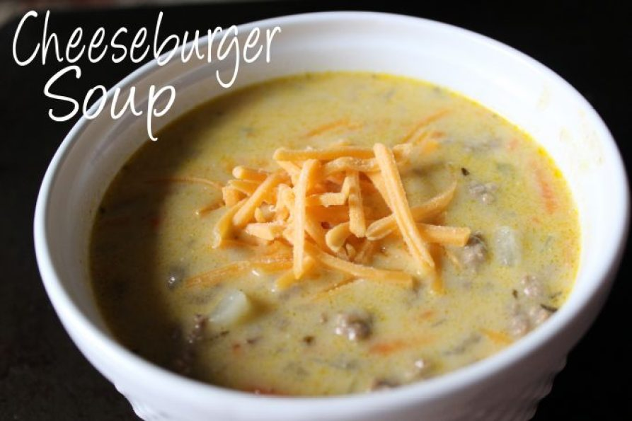 Cheeseburger Soup - These are the Top Recipes from Everyday Made Fresh 2016 Edition - There were 183 recipes shared in 2016, and these had the most views! | EverydayMadeFresh.com