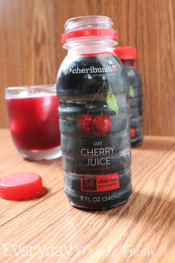 Do you suffer from pain, sleeplessness, or inflammation? Tart cherry juice may be your answer! | EverydayMadeFresh.com