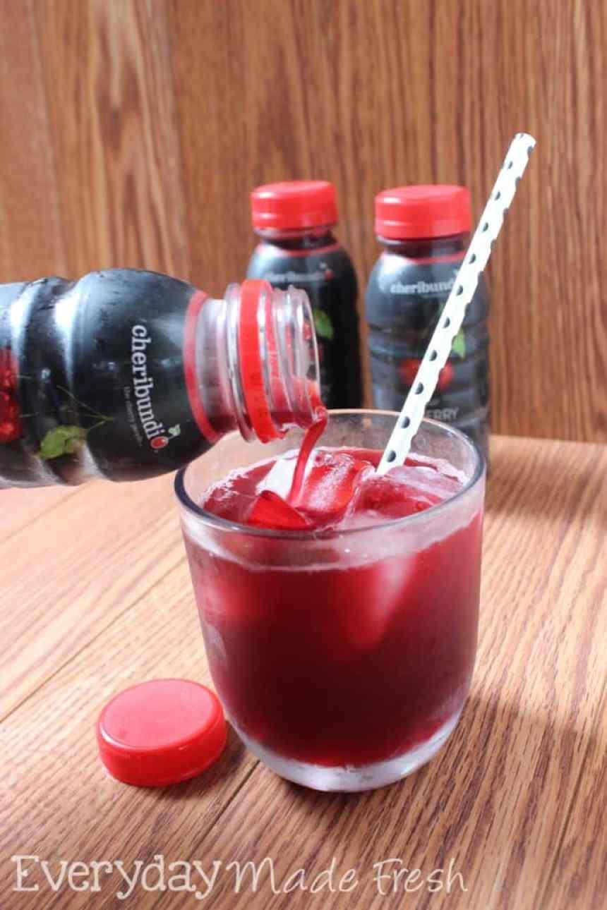 Cheribundi, the Tart Cherry Juice | EverydayMadeFresh.com