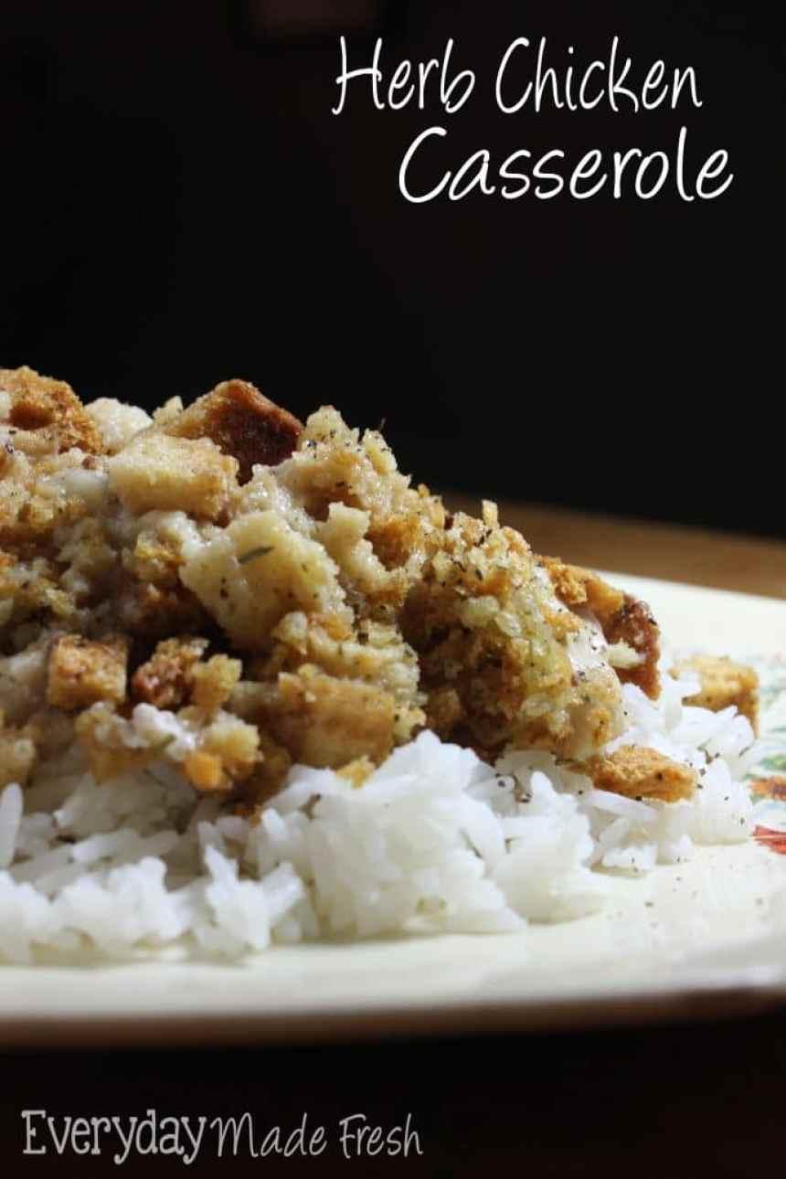Herb Chicken Casserole