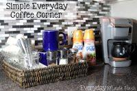 Simple Everyday Coffee Corner
