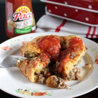One Pan Taco Pie