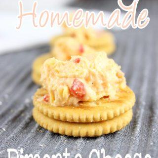 Creamy Homemade Pimento Cheese