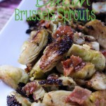 Not everyone is a sprouts fan, but that may change with this Maple Bacon Brussels Sprouts recipe! | EverydayMadeFresh.com