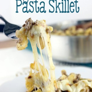 Philly Cheesesteak Pasta Skillet