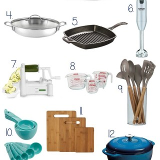 I've scoured the web and come up with The Best Kitchen Gifts 2017. If you have a food lover or home cook on your list this year, you don't want to miss these top gifts! Gift ideas for everyone's budget. | EverydayMadeFresh.com