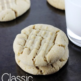 Everyone needs a Classic Peanut Butter Cookie recipe in their collection, and this one is it! | EverydayMadeFresh.com