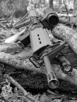 "BCM 16"" lightweight profile barrel on the Minimum Capable Carbine"