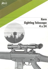 The Kern scope talked about during the discussion of sniping 4th generation