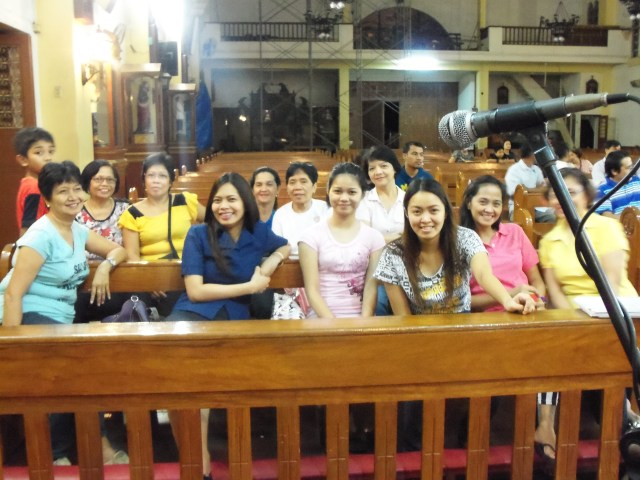 Special thanks to the choir for sharing your voices to make Nanay and our family happy and most of all to praise God!