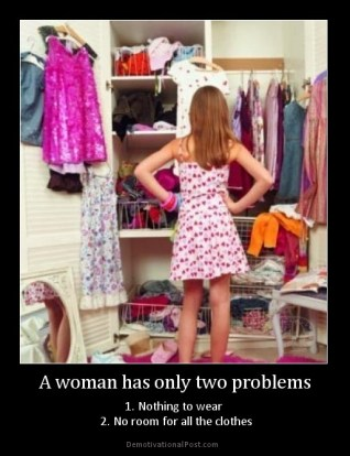 a-woman-has-only-two-problems