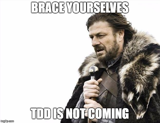 TDD Is unlikely to win