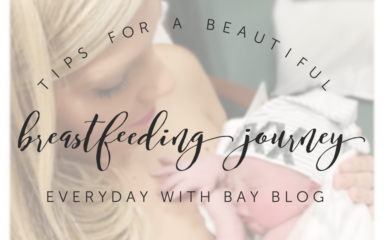 Tips for a beautiful breastfeeding journey