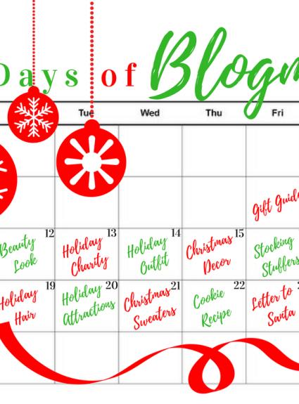 "12 days of ""Blogmas"" + Stocking Stuffers Gift Guide"