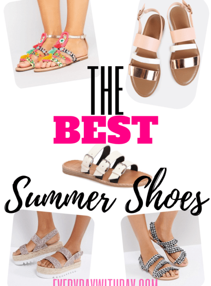 The BEST Summer Shoes