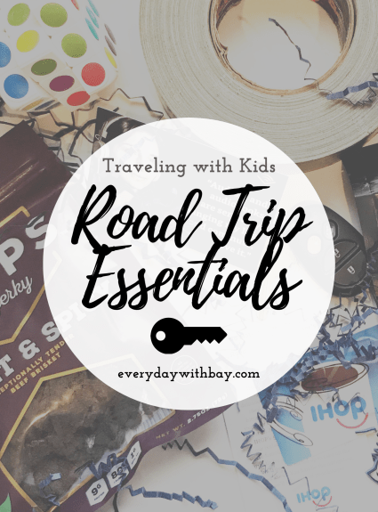 Road Trips With Kids – The Essentials