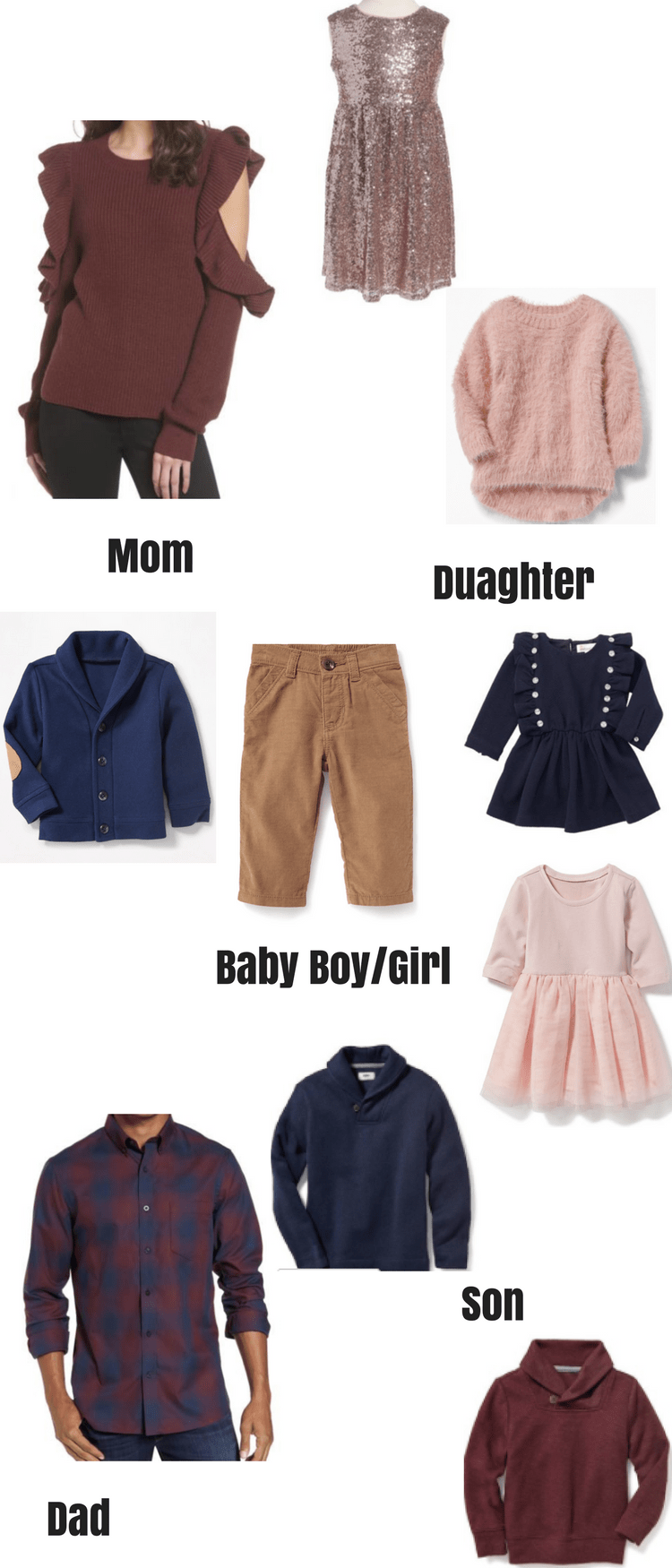 Family Picture Outfits