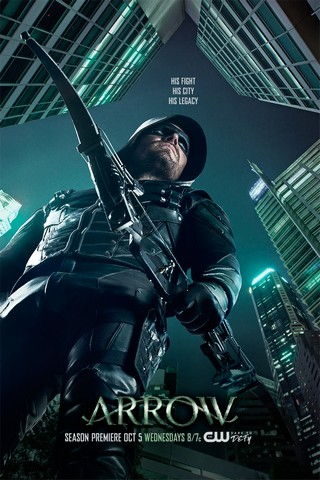 Arrow 5: online il poster ufficiale