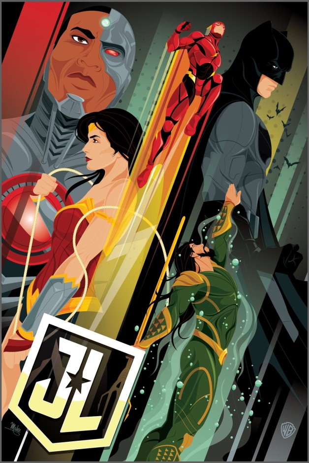 Justice League: è online il nuovo poster IMAX by RegalCinema, date un'occhiata!
