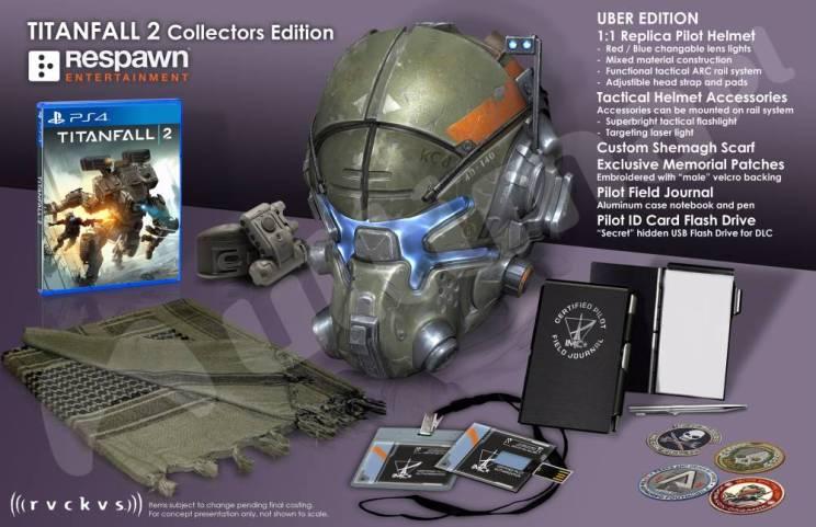 titanfall 2, collector edition, ps4, Trapelata la collector di Titanfall 2 in versione Ps4