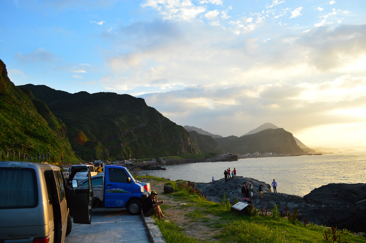 A Moment of Sheer Joy on Taiwan's Coastal Highway