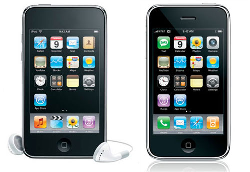 iPod Touch vs iPhone 3G