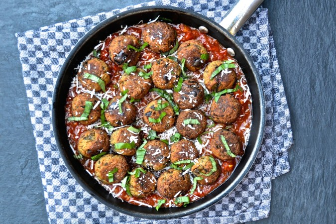 Eggplant Polpette (aka Meatless Meatballs)
