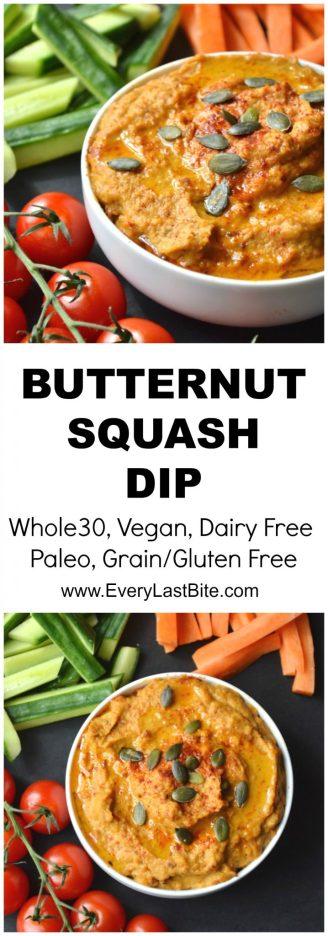 Butternut Squash Dip   Every Last Bite