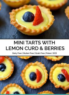 Mini Tarts with Lemon Curd & Berries