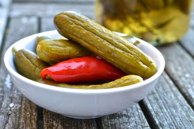 Easy-Peasy Pickles