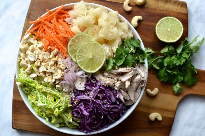 Chicken & Pomelo Salad
