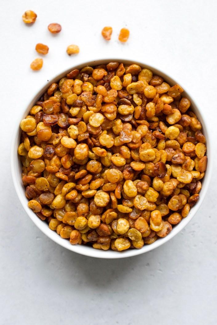 Crunchy Split Pea Snack