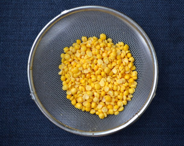 how to cook split peas