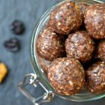 Cherry & Tahini Energy Balls