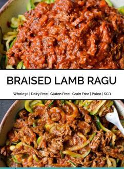Braised Lamb Ragu