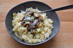 Mushroom Cauliflower Risotto