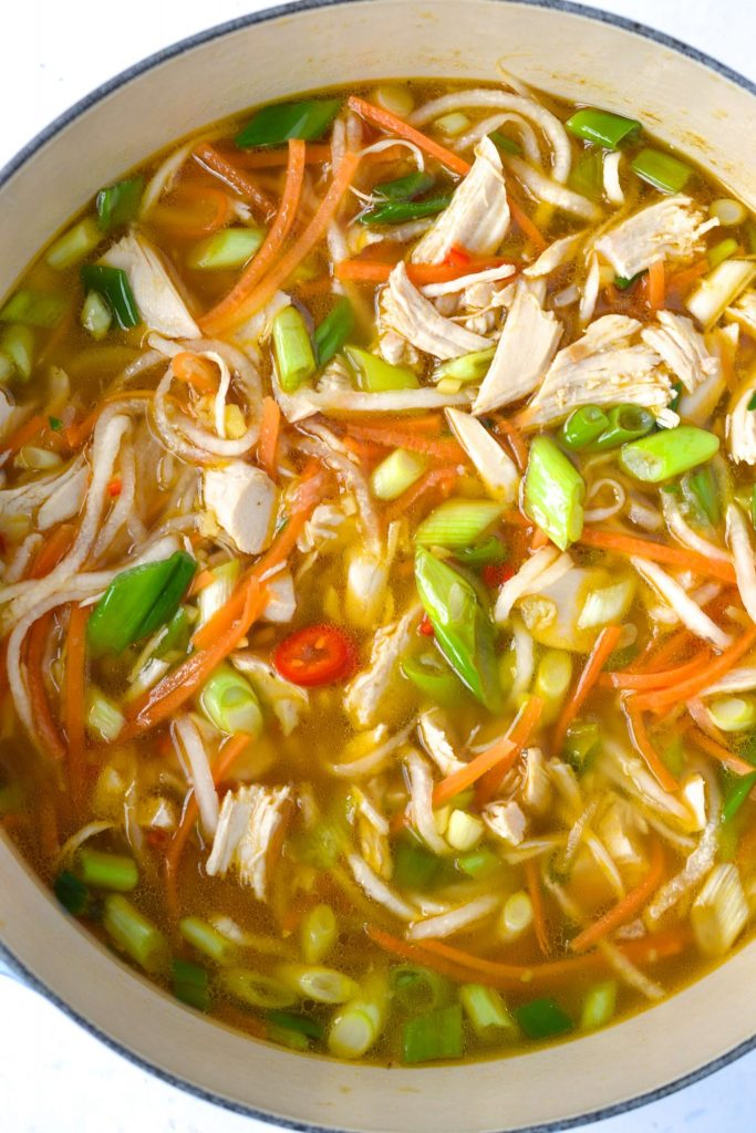 Paleo Asian Noodle Soup