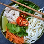Spicy Asian Chicken, Veggie & Noodle Soup