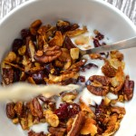 Orange, Cranberry & Pecan Granola
