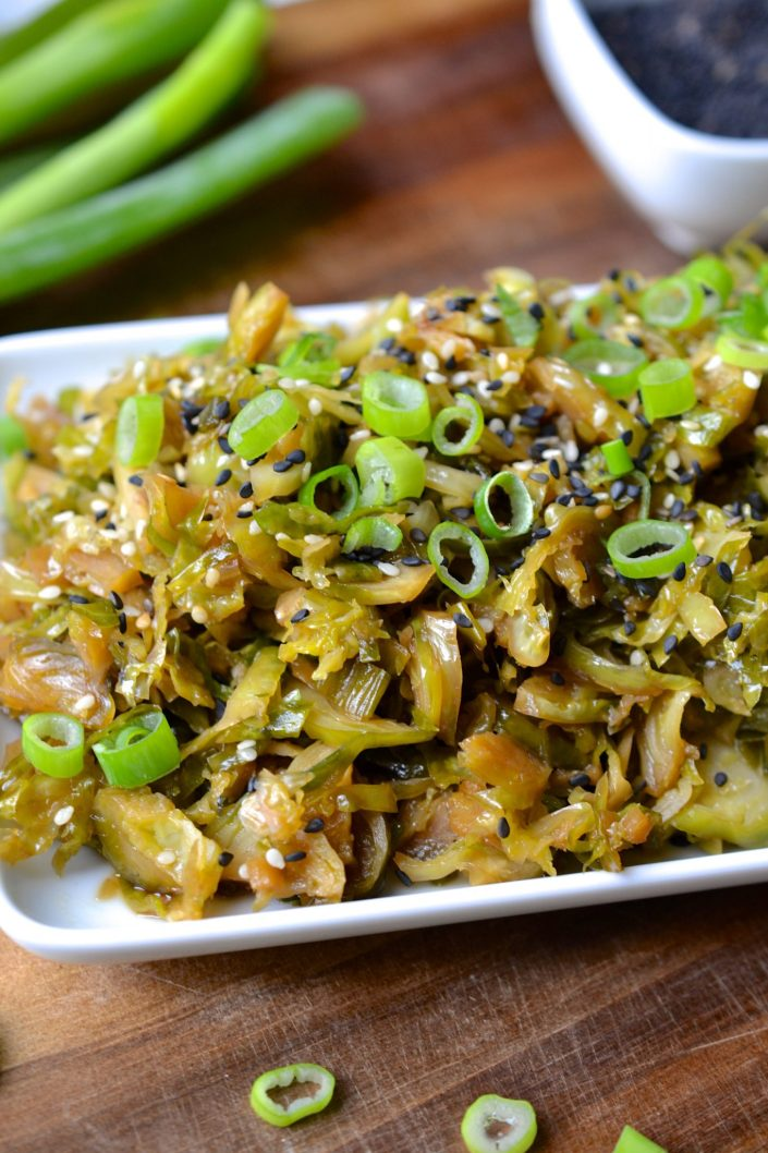 Asian Brussels Sprouts