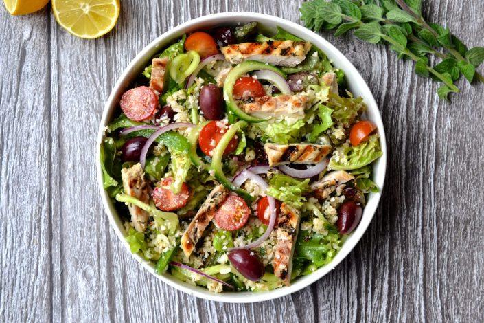 Paleo Greek Chicken Salad